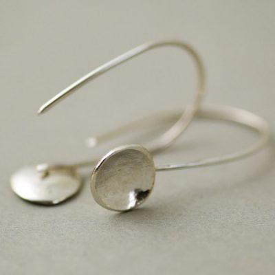 Elemental Cup Drop Earrings