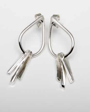 Tear Stud Earrings