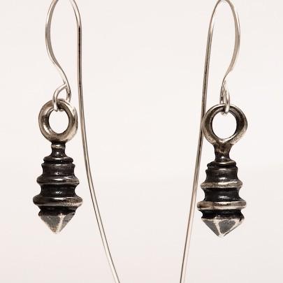 1840 Antiqued Drop Earrings