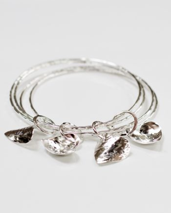 Charms Of The Heart Bangle