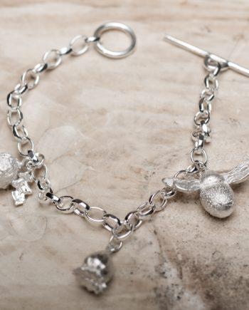 English Garden Charm Bracelet