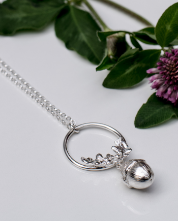 Garland Acorn Necklace