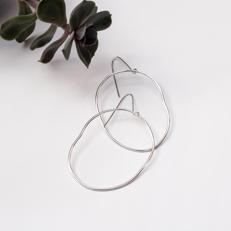 Circum Large Hoop Earrings