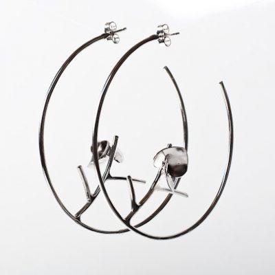 Blossom Hoop Earrings
