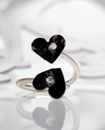 Keepers Two Hearts Ring