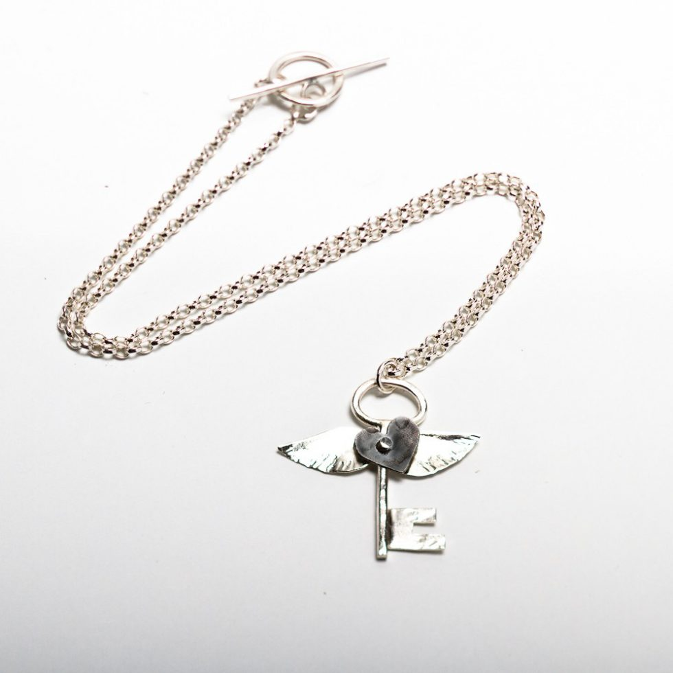Keepers Liberty Black Heart Necklace