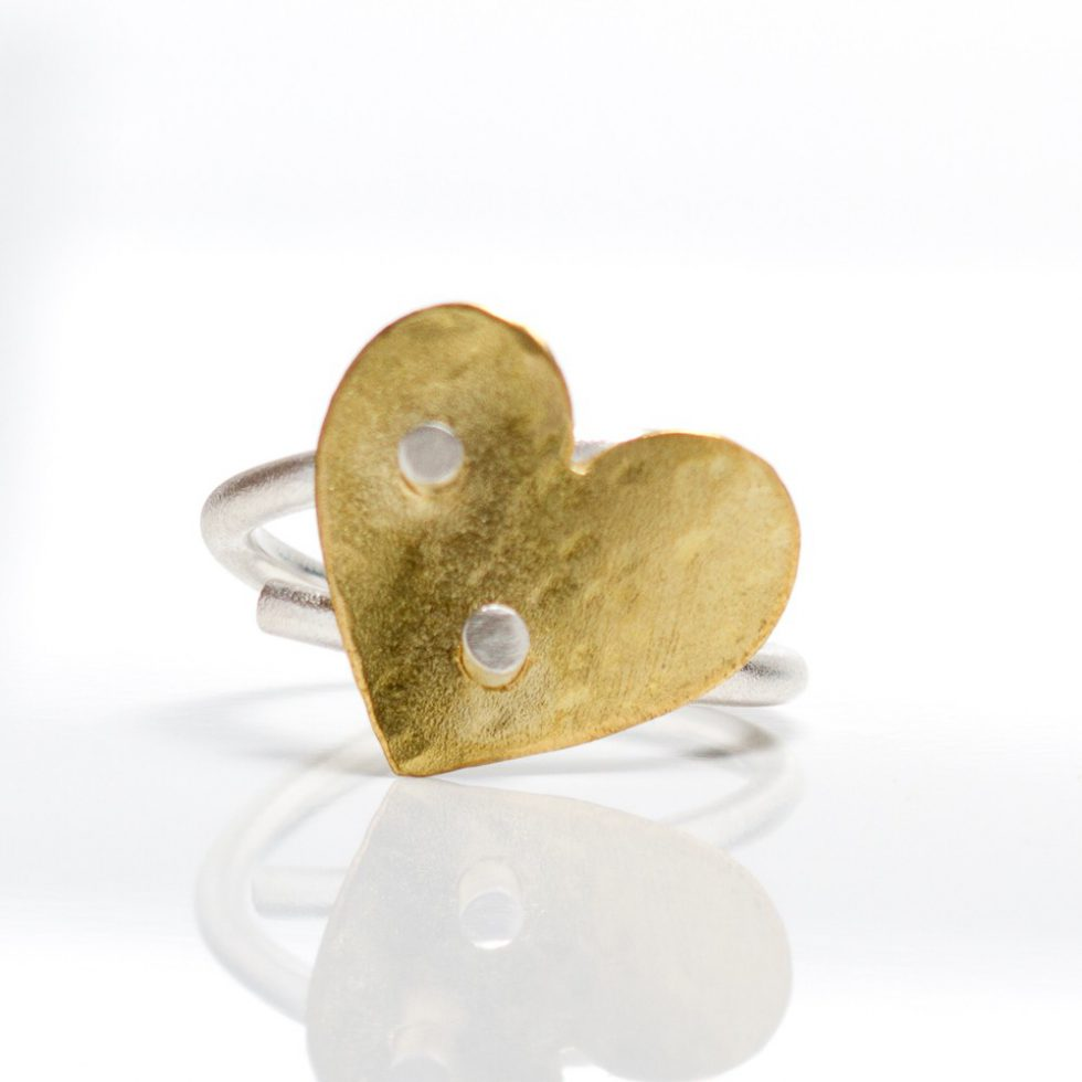 Keepers Gold Heart Ring