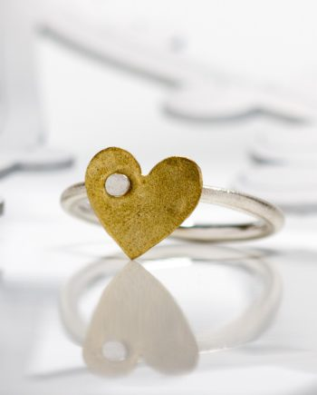 Keepers Small Gold Heart Ring