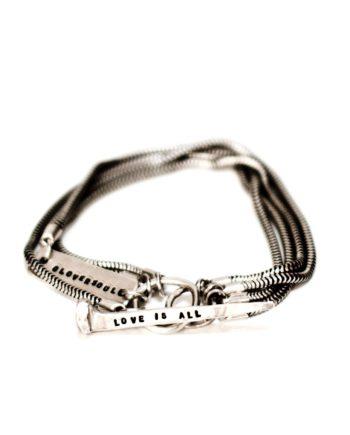Love Nail and I Bracelet