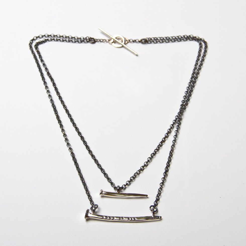 Two Nail Necklace