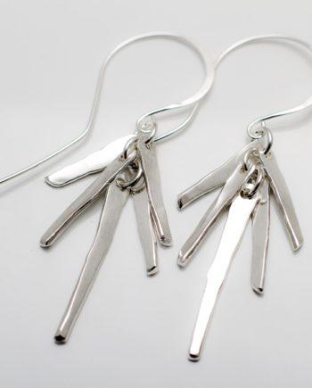 Teardrops On The Fire earrings